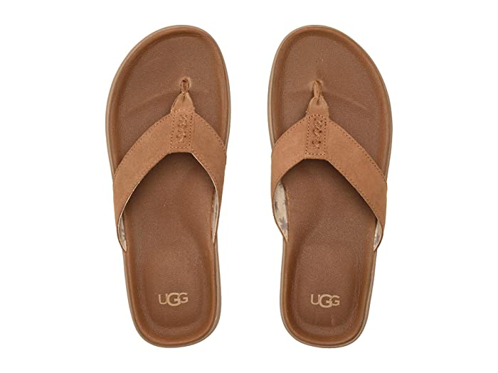 UGG  Brookside Flip (Chestnut) Mens Shoes
