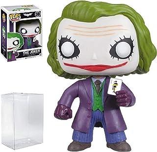 Funko POP! Heroes: DC Comics Batman: The Dark Knight Movie - The Joker #36 Vinyl Figure (Bundled with Pop Box Protector Case)