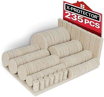 10Pcs Non-slip Rubber Feet Protector Pads Furniture Instrument Case Bumper  CLZ