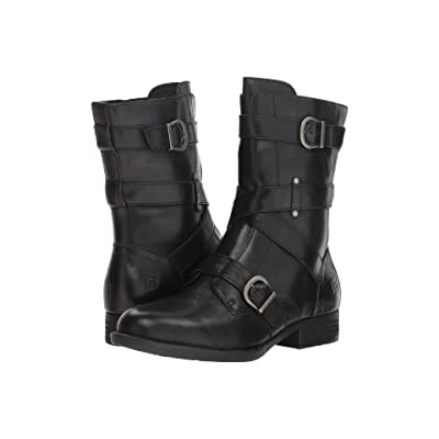 Born Portia (Black Full Grain) Women