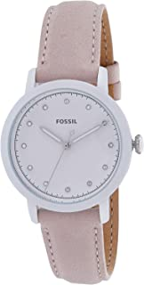 Fossil Leather Casual Watch For Women - ES4399
