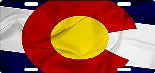 Fast Service Designs Colorado Flag Custom License Plate Colorado Emblem