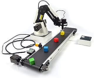 Dobot Magician Educational Kit for STEM Robotic ARM,Educational Version with Conveyor Belt (Edu-Magician-Belt)