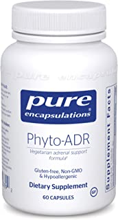 Pure Encapsulations - Phyto-ADR - Hypoallergenic Adrenal Support Formula for Vegetarians* - 60 Capsules