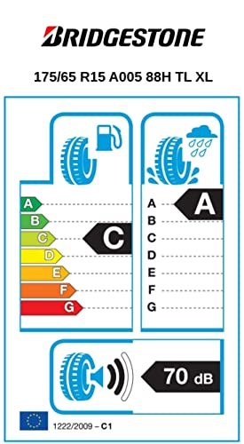 Bridgestone Weather Control A005 175 65 R15 88h Xl C A 70 Ganzjahresreifen Pkw Suv Auto
