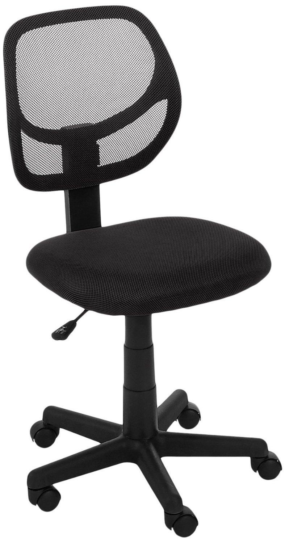 Amazonbasics Low-Back Computer Chair - Black