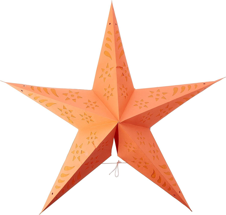 Max 67% OFF OmniReselling S07F6T0494 Paper Indefinitely Star: Orange 60cm Dia Unspecif