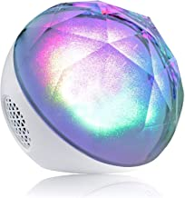 $56 » SMQHH Portable Bluetooth Speakers, Portable Bluetooth Speakers with Pulsating Lights,Color Changing Portable Outdoor Party...