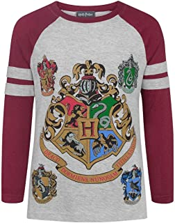 Official Girls Hogwarts Raglan T-Shirt