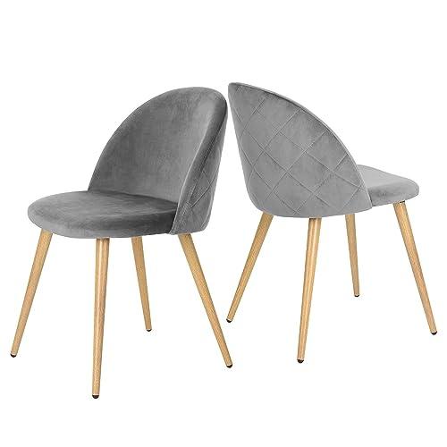 Grey Velvet Chair Amazoncom