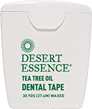 Desert Essence Tea Tree Oil Dental Tape - 30 Yds