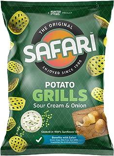 SAFARI Potato Grills – Sour Cream & Onion, 60 gm