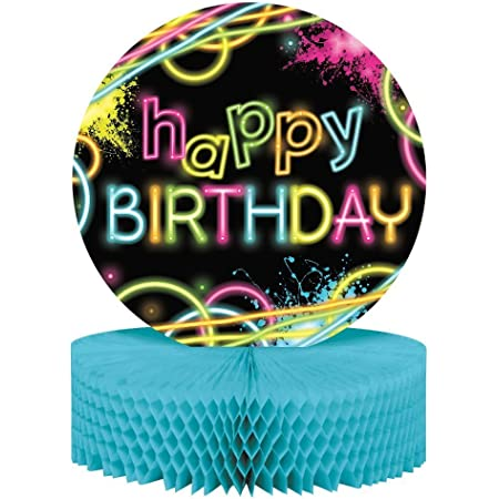 Creative Converting Glow Party Birthday Centerpiece - 12 (Two-Pack)