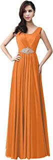 TalinaDress Women Long Rhinestones Evening Bridesmaid Dresses Prom Gown E159LF