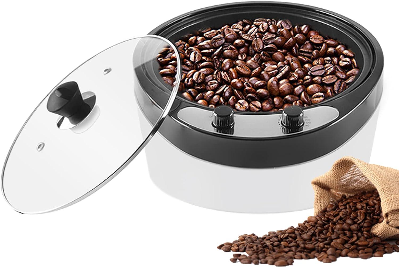 YUCHENGTECH Tostador eléctrico de granos de café tostador de café doméstico tostador de café 0-240 ℃ temperatura ajustable 800g 220V