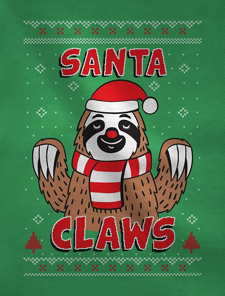 TeeStars Santa Claws Sloth Ugly Christmas Sweater Cute Toddler//Kids Sweatshirt