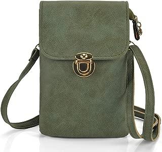 ZVE Small Crossbody Bags Cell Phone Purse Wallet Shoulder Handbags for Women
