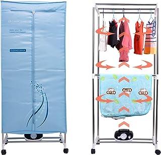 Concise Home Séchoir électrique 1000W Grande capacité 15kg Double en Acier Inoxydable à économie d'énergie vêtements d'int...
