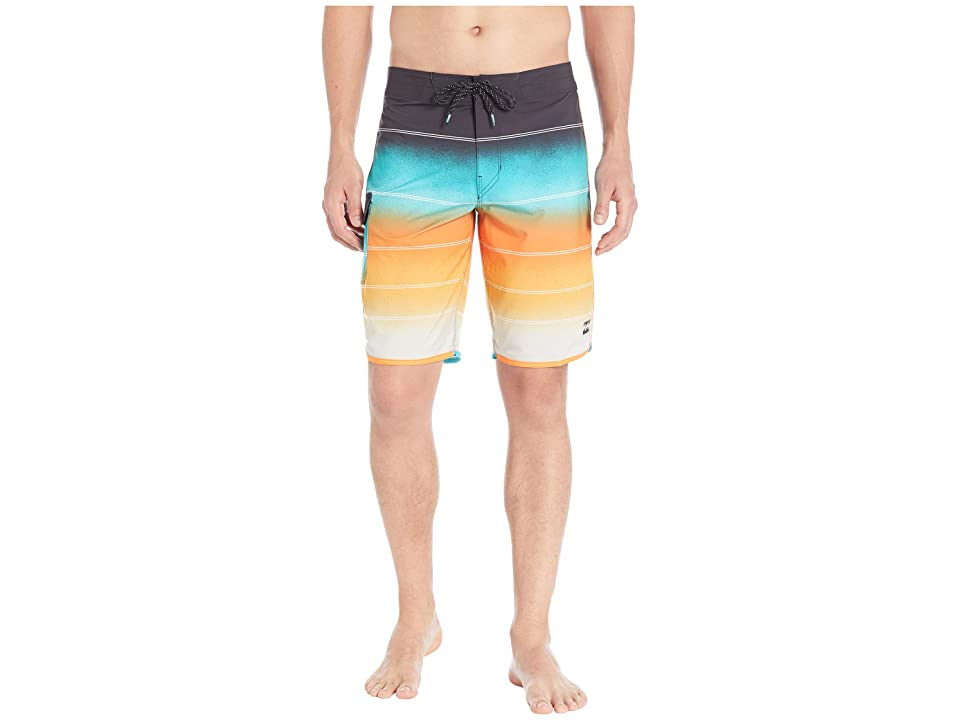 Billabong 73 X Stripe Boardshorts (Sunset) Men