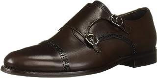 MARC JOSEPH NEW YORK Men's Leather Double Monk Dress Shoe Oxford