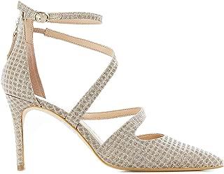Guess Luxury Fashion Womens FL5BK2FAM08WHIBE Beige Heels | Spring Summer 19
