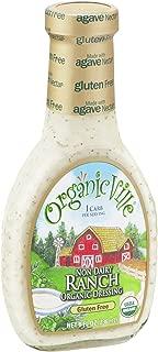 OrganicVille Organic Non Dairy Ranch Vinaigrette, 8 Ounce - 6 per case.