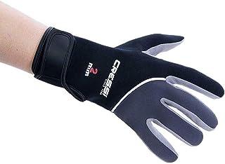 comprar comparacion Cressi Tropical Gloves Guantes de Neopreno y Amara de Buceo Adulto 2 mm, Unisex