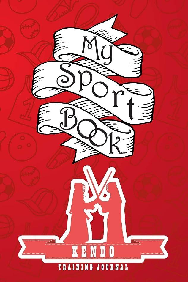 祖先ハイライトクリップ蝶My sport book - Kendo training journal: 200 cream pages with 6