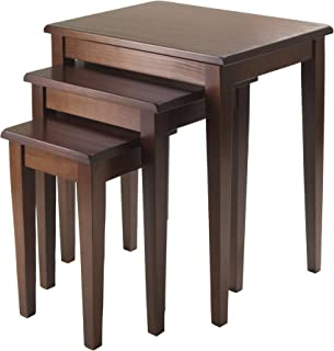 Winsome Wood Regalia Accent Table, Walnut