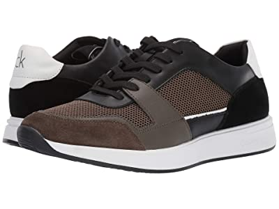 Calvin Klein Dudley (Black/Camouflage Silky Suede/Smooth Calf/Nylon) Men