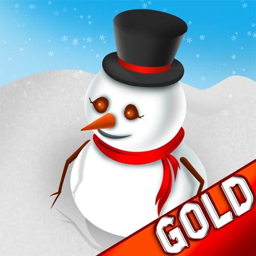 Bouboule o boneco de neve de inverno da véspera de natal neve salto aventura - Edição de ouro