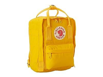 Fjallraven Kanken Mini (Warm Yellow) Backpack Bags