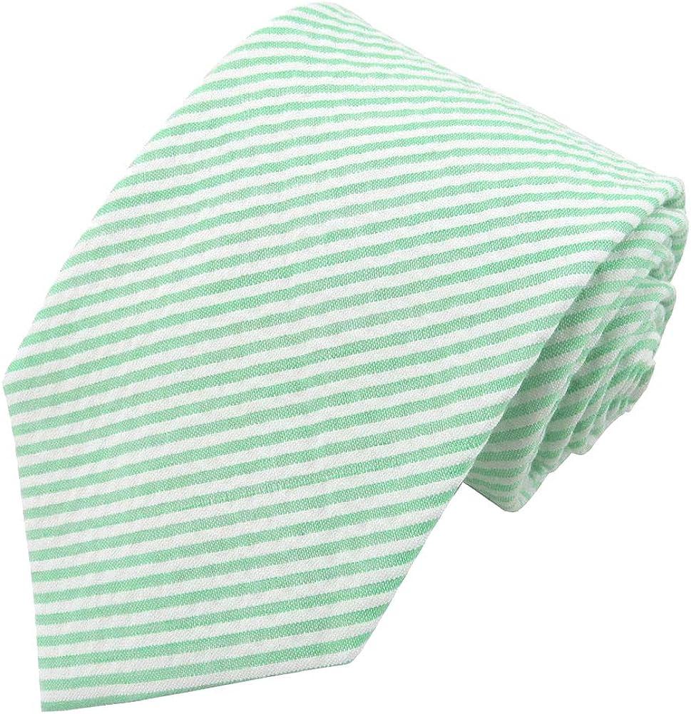 Jacob Alexander Boys' Prep Seersucker Self-Tie Neck Tie