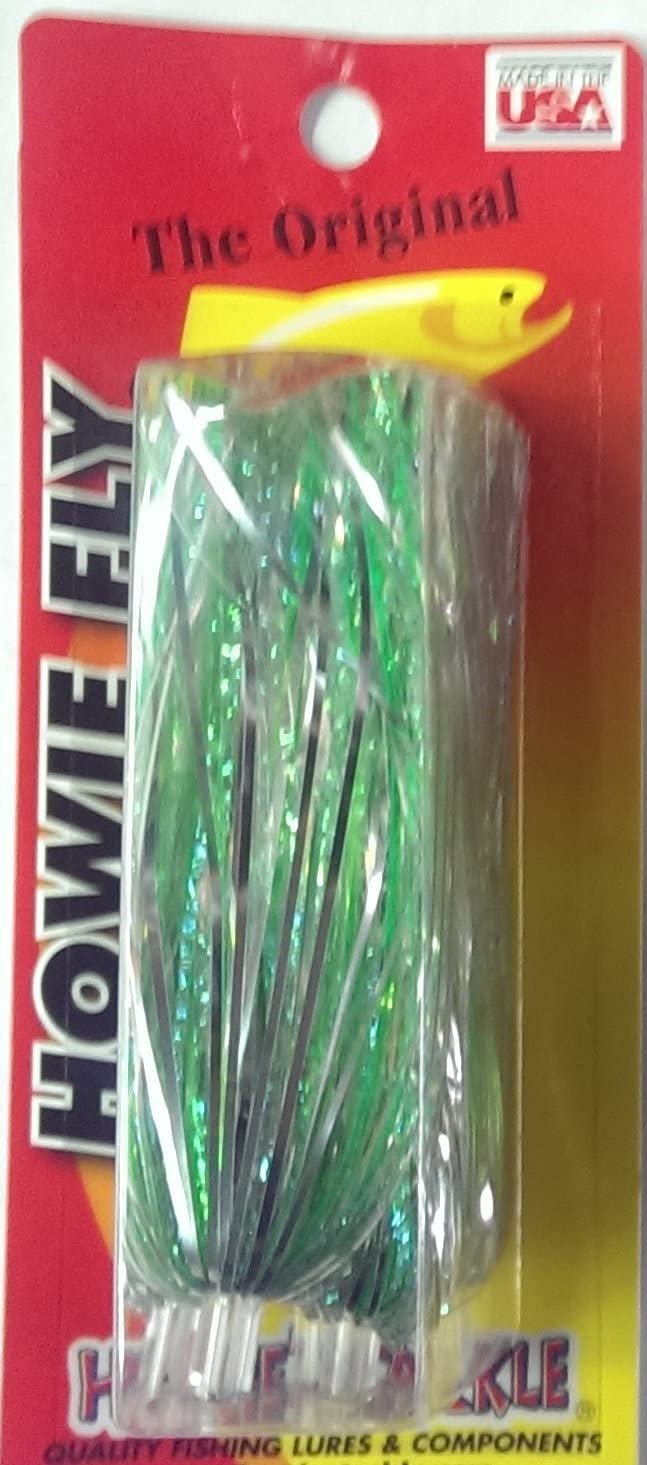 Glitter Lime Green Silver Howie's Fishing Fly Tackle Clearance SALE Limited time Super sale period limited Lure Howie