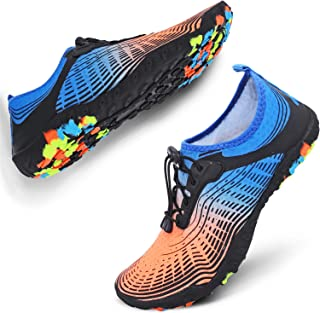 JIASUQI Women's Men's Slip on Memory Foam Clogs Indoor Home Slippers Casual Fur Warm Shoes