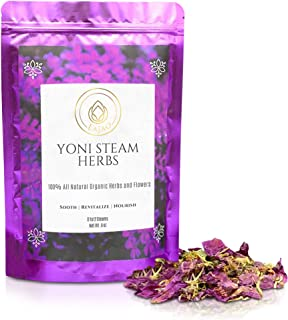 LaJao Yoni Steaming Herbs for V Steam, Herbal Steaming for Women, 8 Ounce 8-12 Steams Vaginal Steam Home Sp...