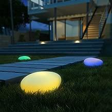 DKB Solar Totempfahl LED Garten Wegelampe Dekoration Solarleuchte Terrase Balkon