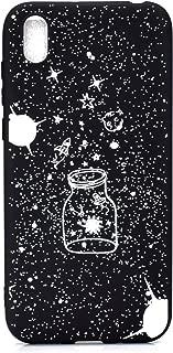 DiaryTown Negro Funda para Xiaomi Redmi 7A Silicona Blando Amor Carcasa Redmi 7A Funda Resistente Dibujos Gracioso Cover Ultrafina Antigolpes Case Protecci/ón
