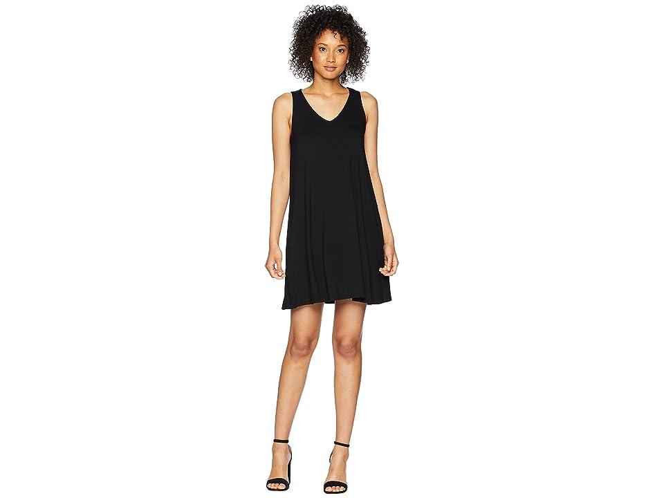 Karen Kane Tessa Tank Dress (Black) Women