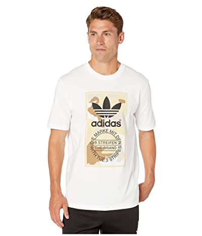 adidas Originals Camo Tee (Multicolor/Clear Brown 2) Men
