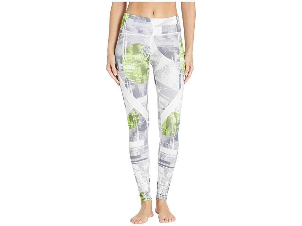Reebok Work Out Ready Meet You There Moonshift Tights (Gray) Women