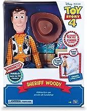 Toy Story 4 - Woody Super Interactivo, con voz en español y reconocimiento de frases - 42cm (Bizak 61234431)