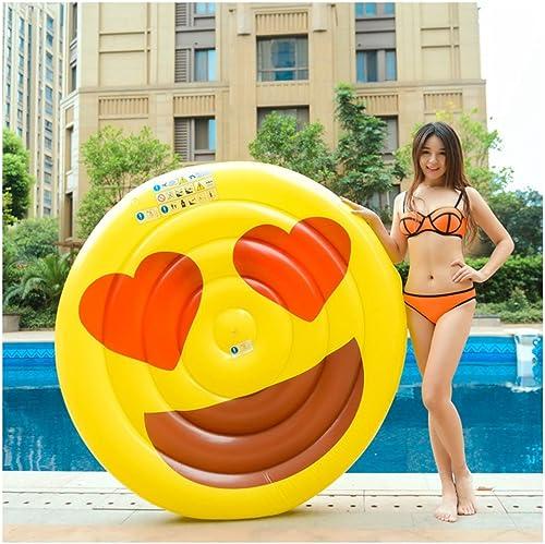nueva marca Aoeiuv Aoeiuv Aoeiuv Cara Sonriente Grande Fila Inflable Inflable Del Agua Sonrisa Irónica Diámetro (El 150Cm)  hasta 42% de descuento