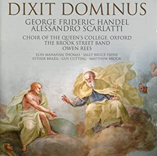 Alessandro Scarlatti - George Frideric Händel : Dixit