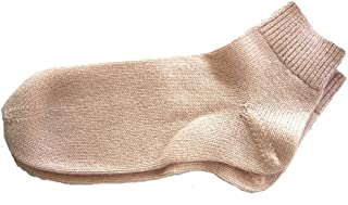 Pink 100% Pure Cashmere Bed Socks for Women