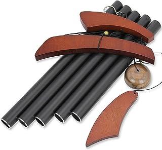 Astarin 40 Inch Large Wind Chimes Outdoor, Deep Tone Wind Chimes with 5 Heavy Tubes, Outdoor Decoration for Front Door, De...
