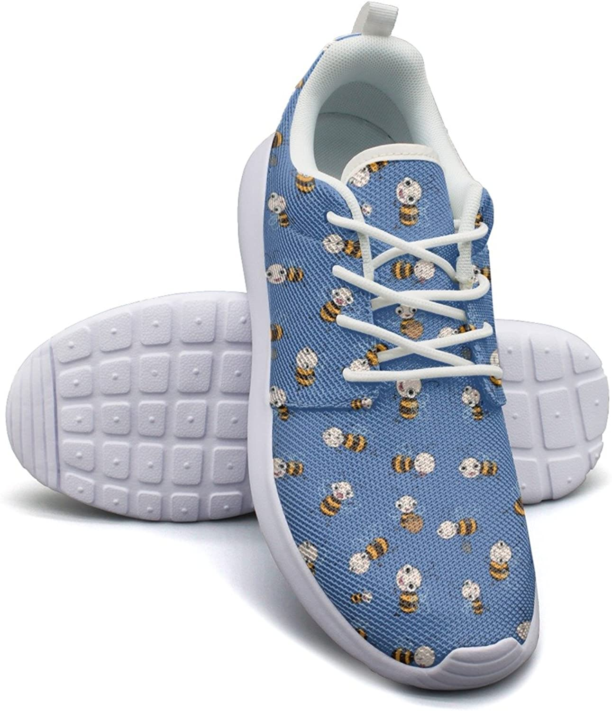 Cute Cartoon Bees Baby Marathon Running shoes Womens size 8