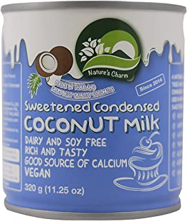 Natures Charm Sweetned Condensed Coconut Milk, 11.25 Oz. (Pack ...