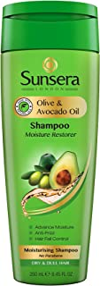 Sunsera Moisturising Shampoo with Olive and Avocado Oil for Dry and Dull Hair - 250 ml