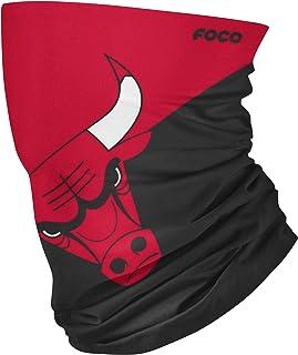 FOCO NBA unisex-adult NBA Team Logo Neck Gaiter Multiuse